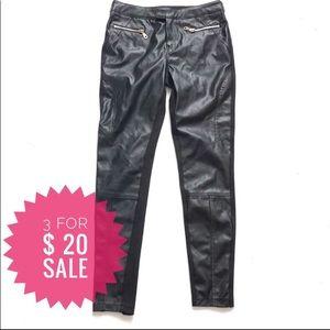 Faux leather leggings Sz S-M